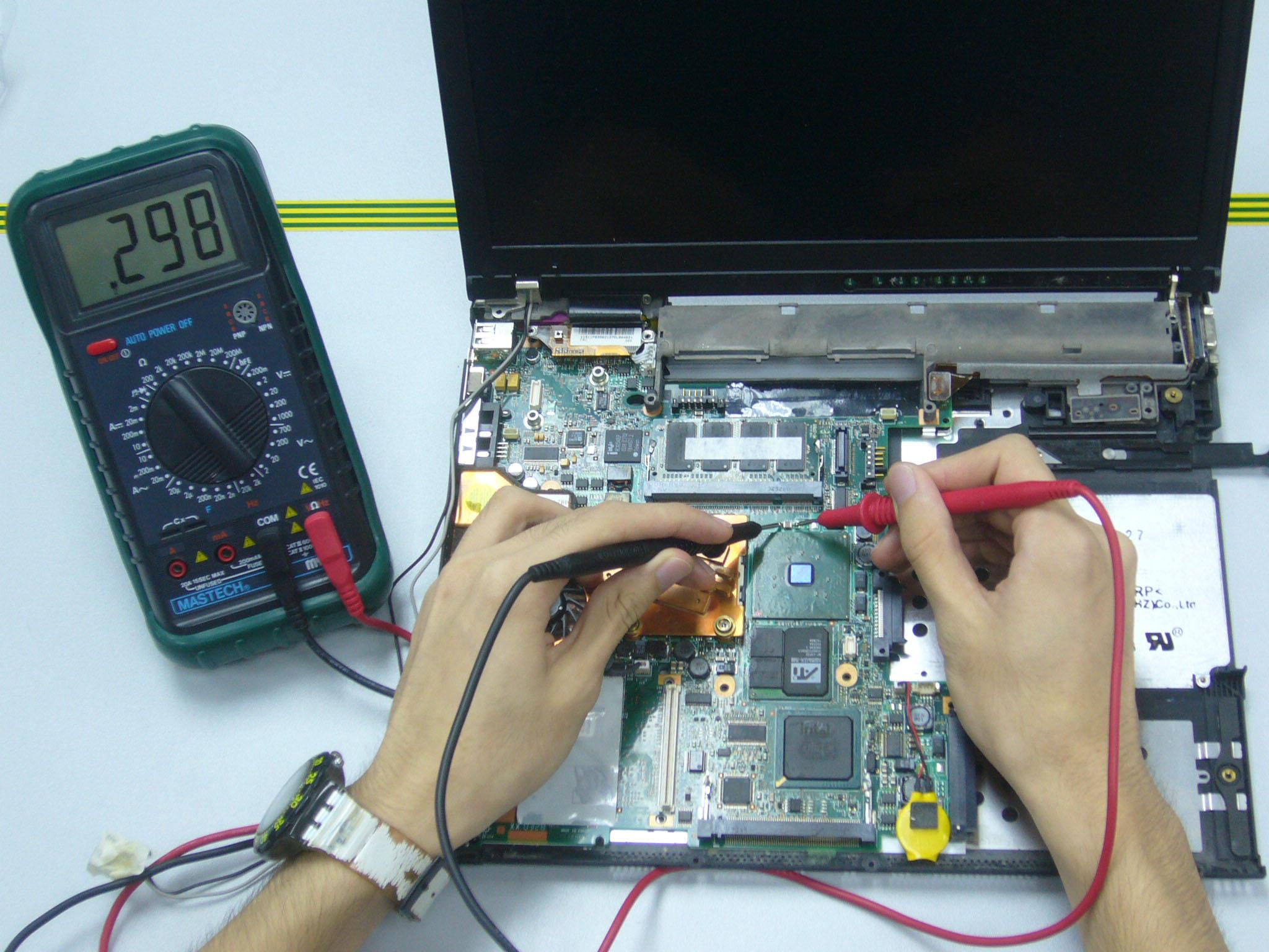 Comuter repairs